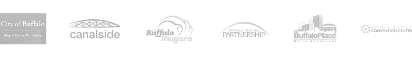 Buffalo Civic Auto Ramp Sponsor Logos